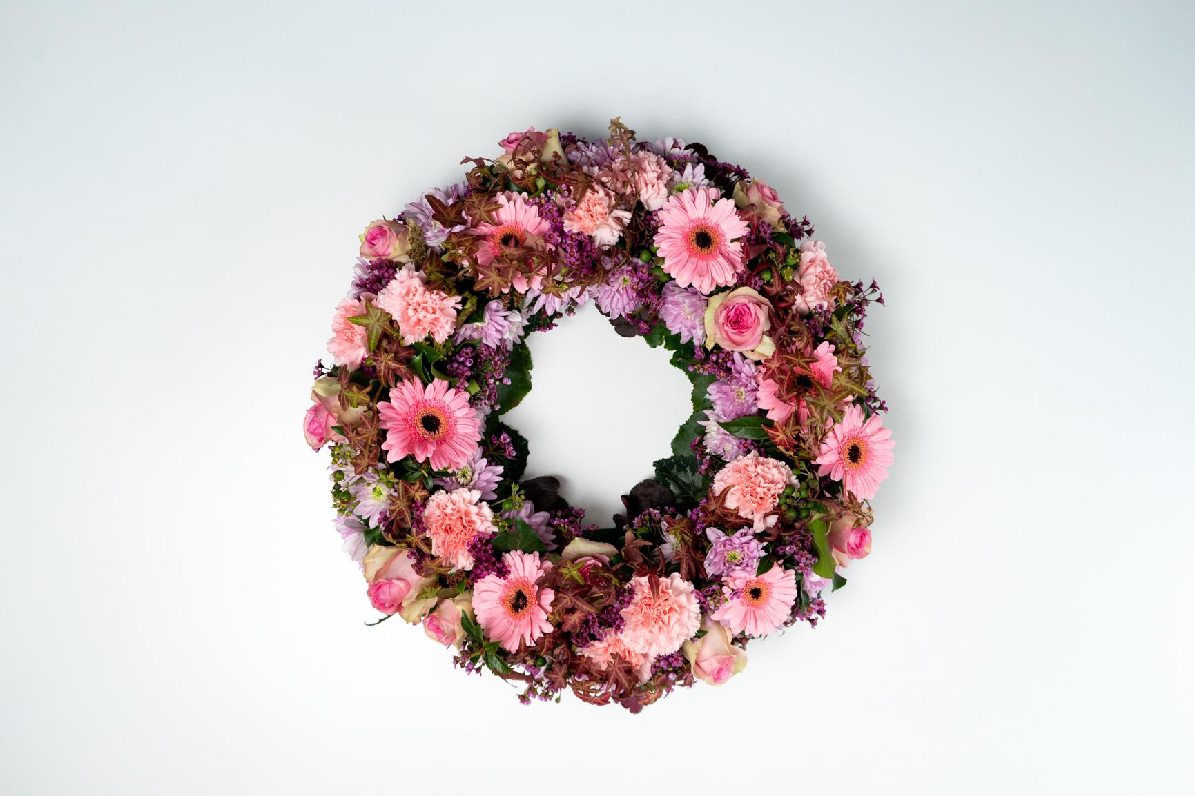 Blumenkranz Rosa
